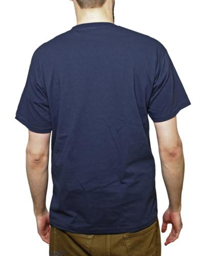 sininen t paita takaa