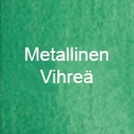 Metallinen vihreä